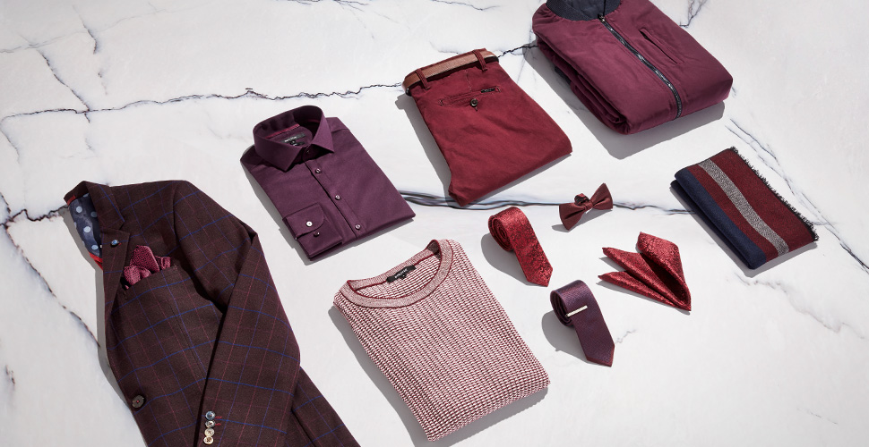 AW17 How To Wear Burgundy Trend