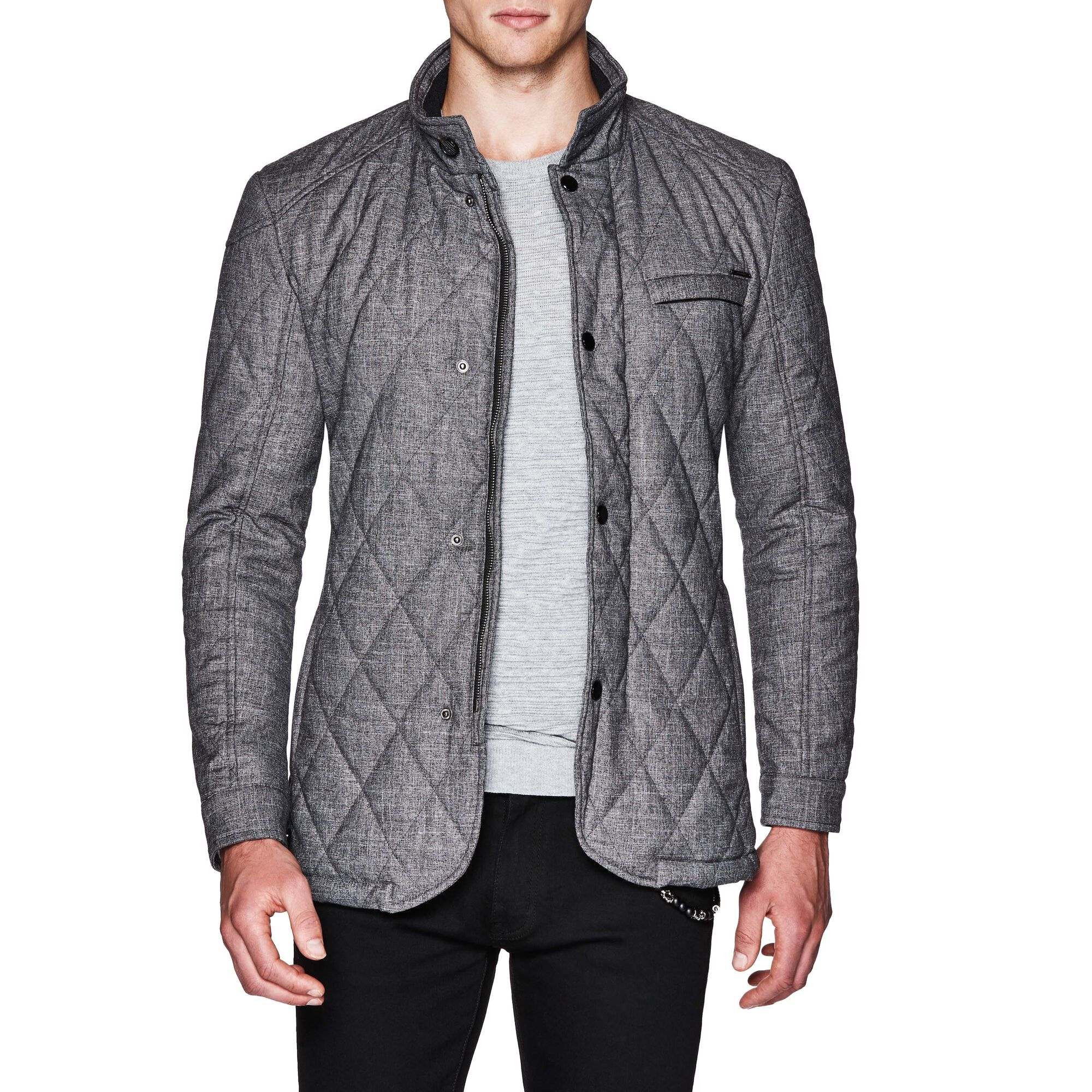 clothing quilt in light s lyst for summit shirt gray heather jacket quilted smartwool county men