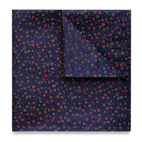 Deron Pocket Square, Pink, hi-res