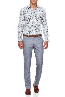 Colorno Shirt, White/Blue, hi-res