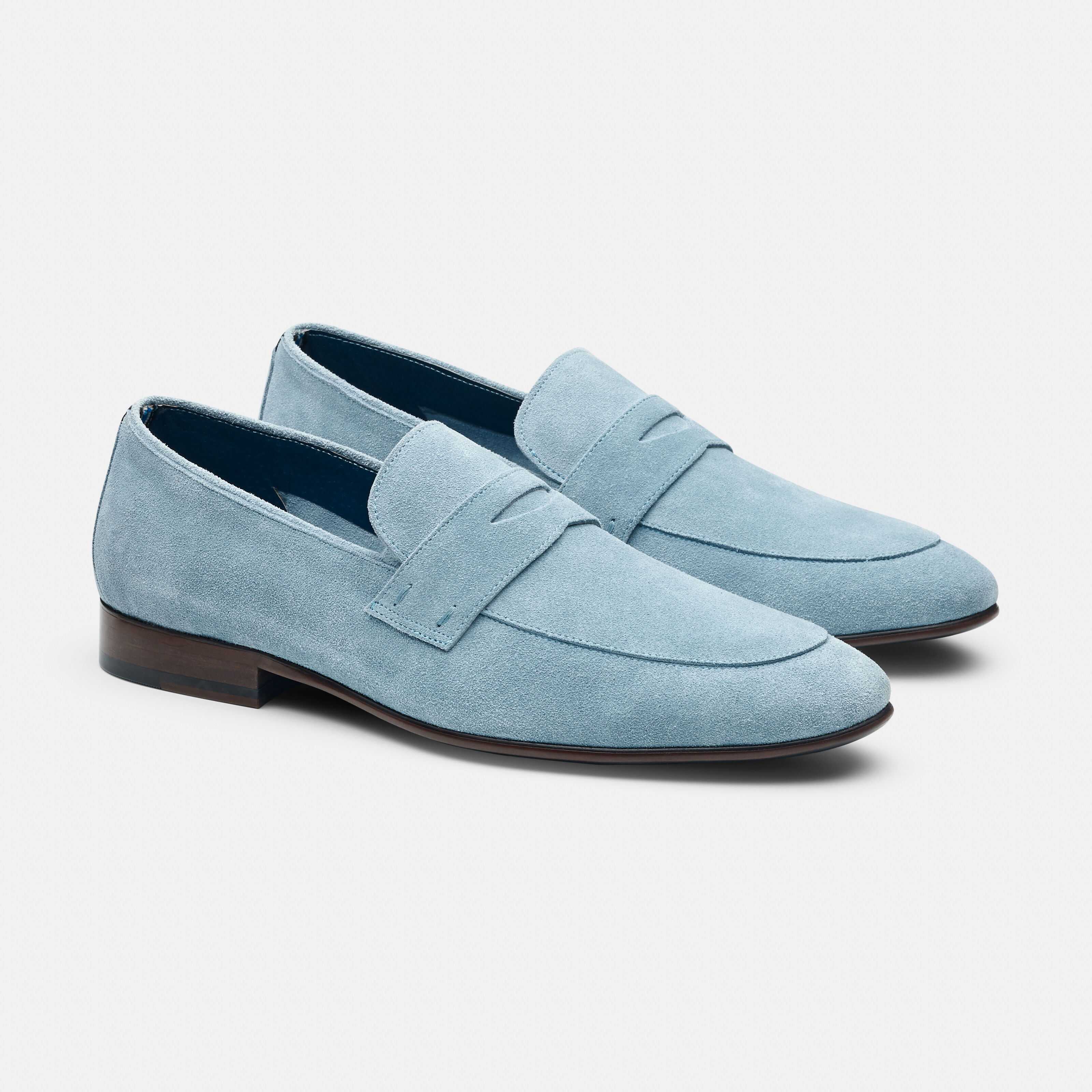 Blue Suede Shoes Dress Loafer