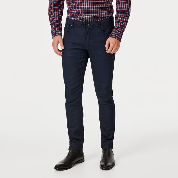 Downsbury Denim, Dark Indigo, hi-res