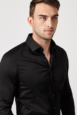 Edisson Shirt, Black, hi-res