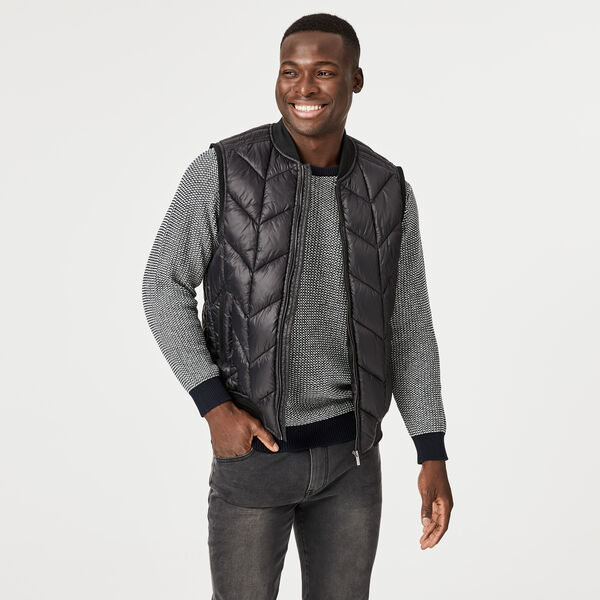 Bluff Casual Jacket, Black, hi-res