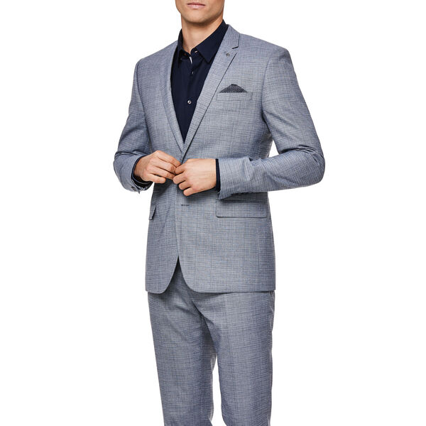 BALVANO SUIT JACKET, Blue, hi-res