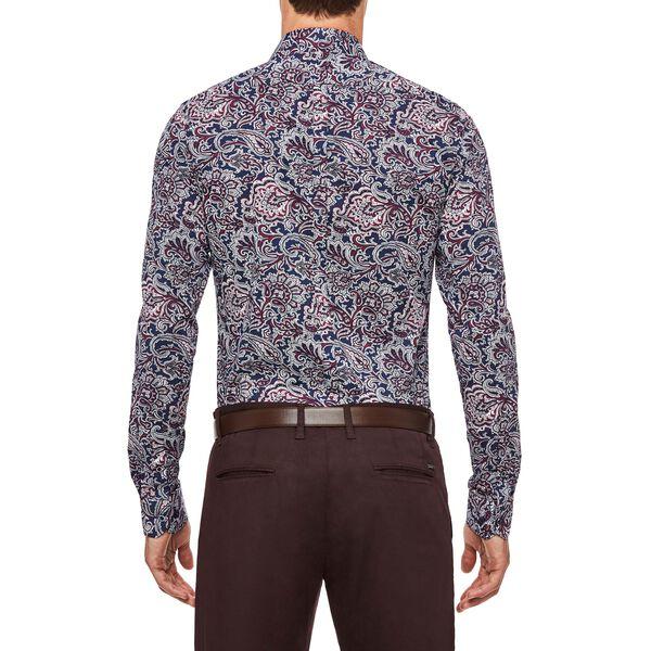 Ruskin Shirt, Navy/Purple, hi-res