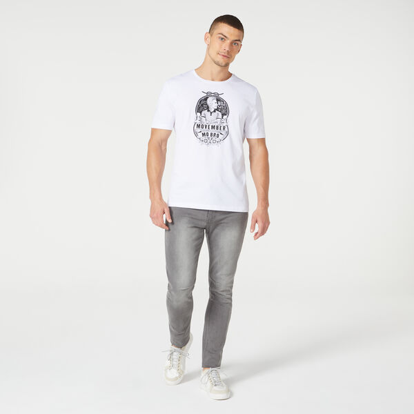 Flower Mo T-Shirt, White/Multi, hi-res