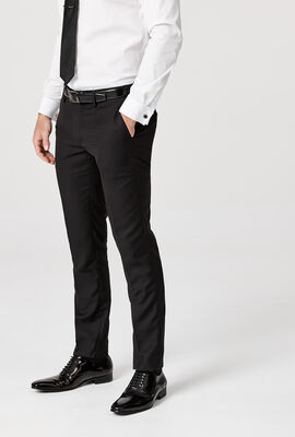 NEWMAN SUIT PANT, Black Chintz, hi-res