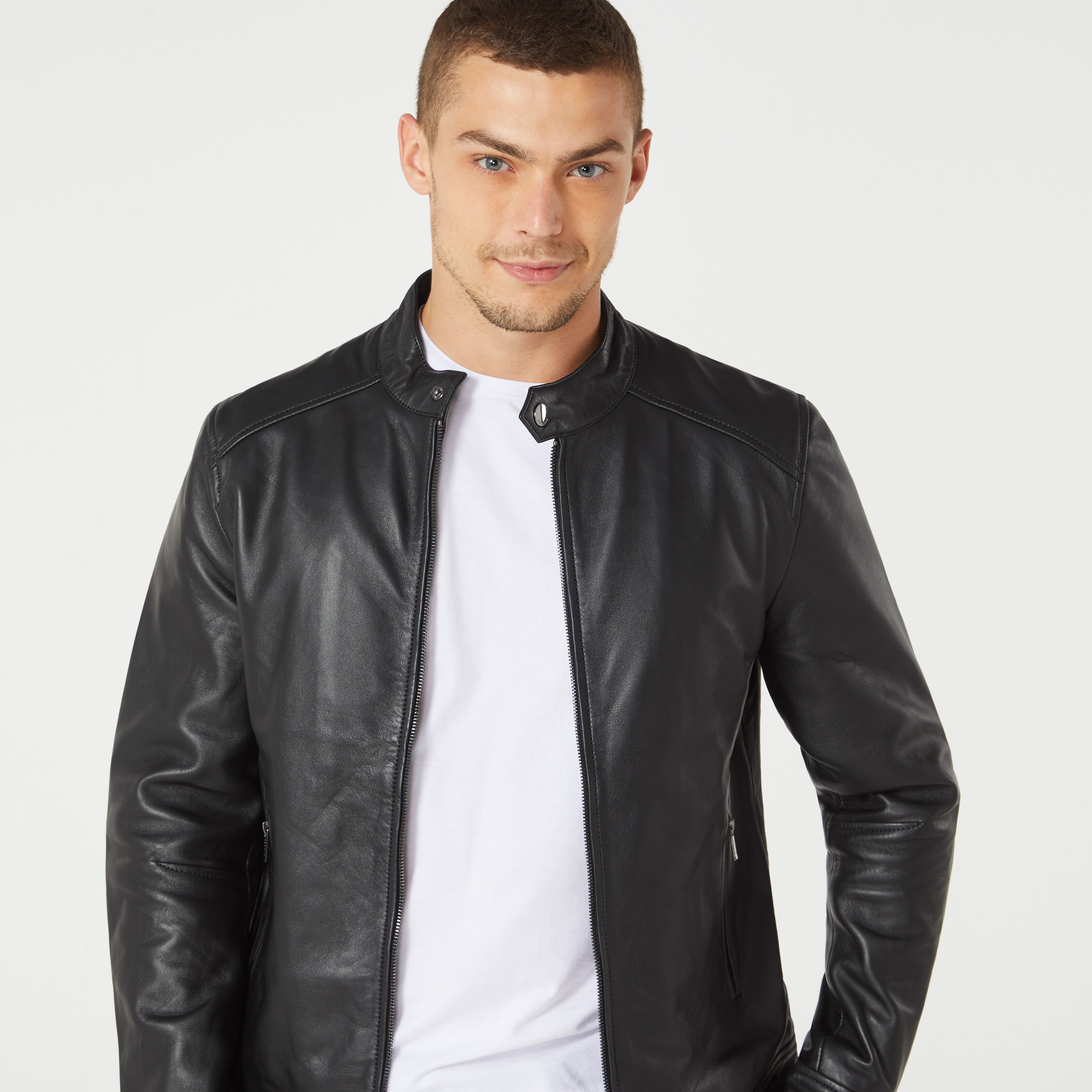 leather jack