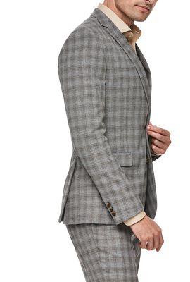 Claredale, Grey Tan Check, hi-res