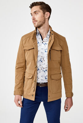 CAMBERWELL CASUAL JACKET, Tan, hi-res