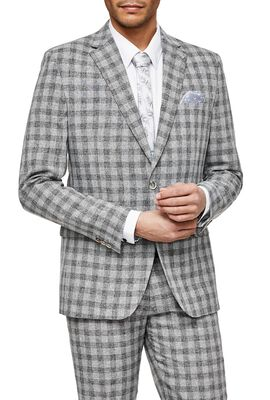 ZANETTI SUIT, Grey Check, hi-res