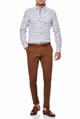 Gerosa Shirt, White/Navy, hi-res