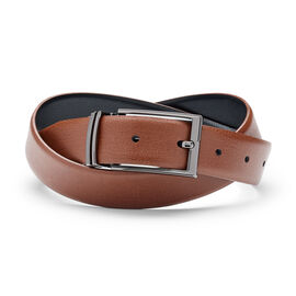 GRECCIO BELT, Light Tan/Black, hi-res