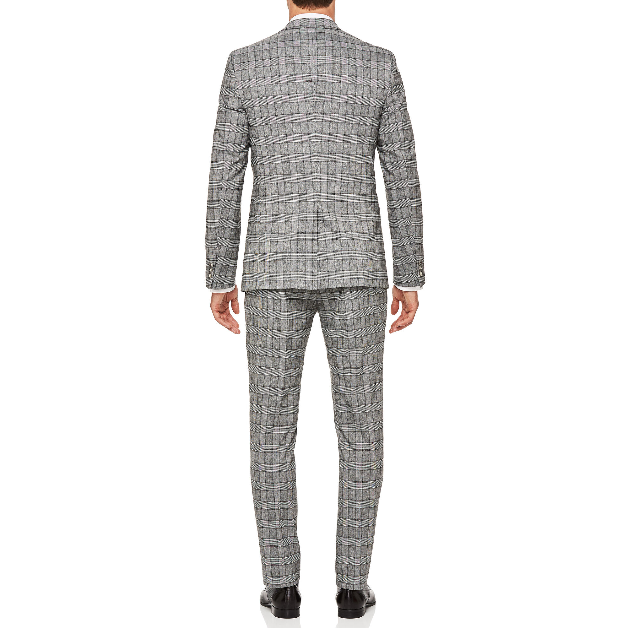 dc1afc8f714d Yardley - Grey Check - Slim Fit Check Tailored Suit | Politix