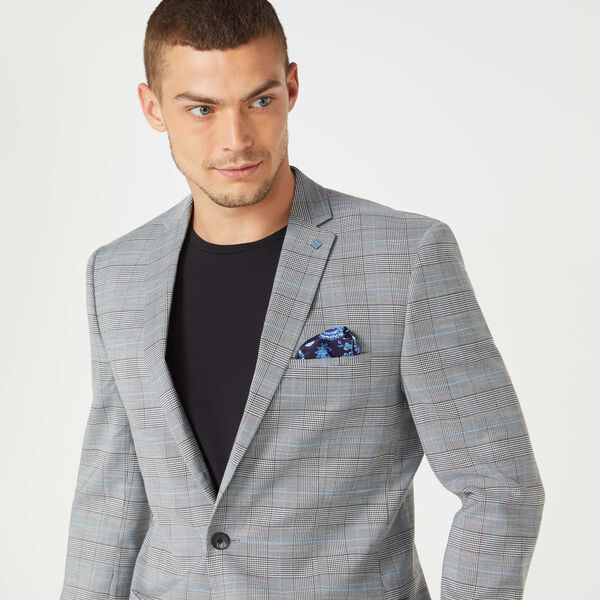 MCCULLUM SUIT JACKET, Black Check, hi-res