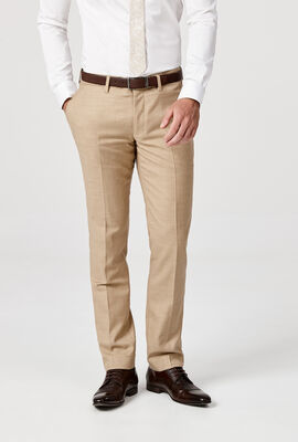 DENHAM SUIT PANT, Tan, hi-res