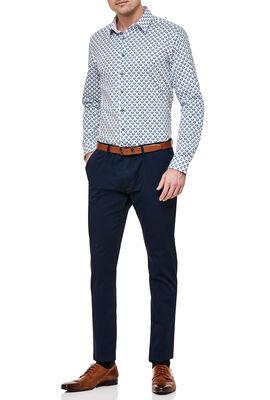 Gemini Shirt, White/Blue, hi-res