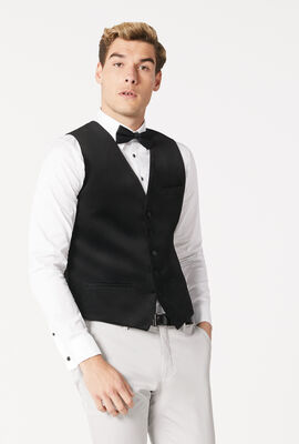 EDWARDES VEST, Black, hi-res