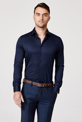 Edisson Shirt, Navy, hi-res