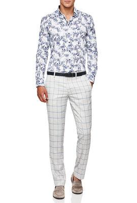 Zampi Shirt, White/Navy, hi-res