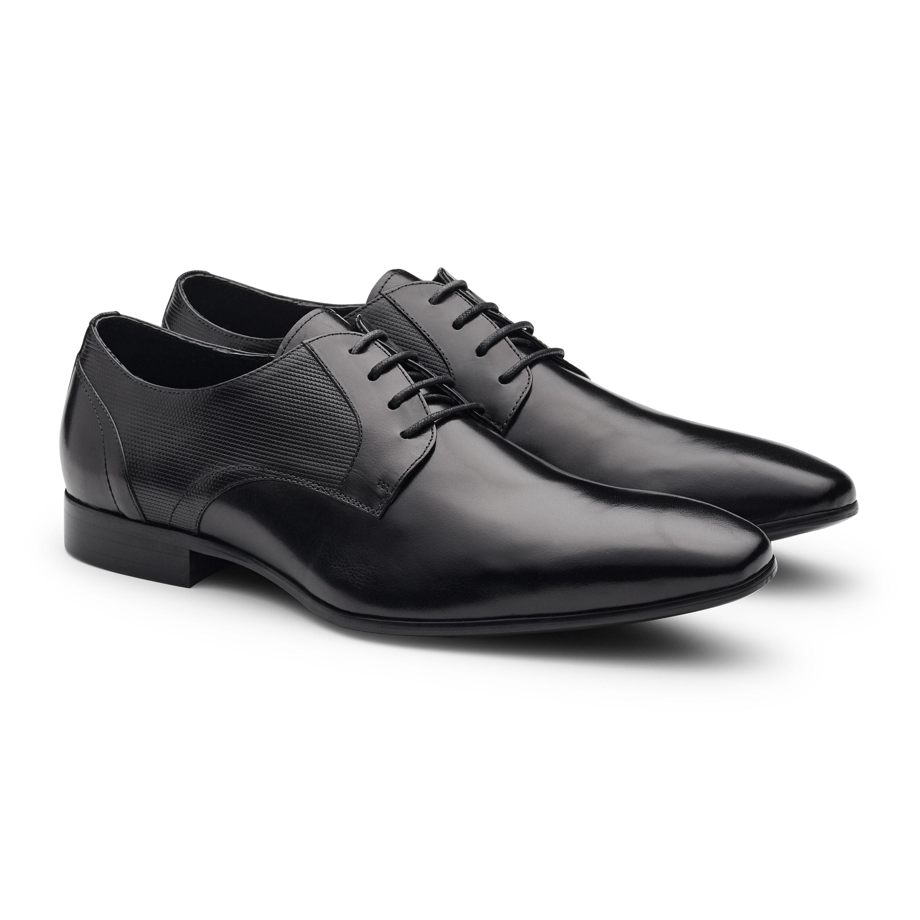 Bartoli - Black - Leather Lace Up