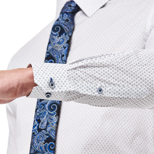 MAALIK SHIRT, White/Blue, hi-res