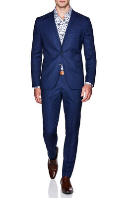 EZEKIAL SUIT JACKET, Blue, hi-res