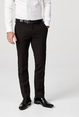 RIVINGTON SUIT PANT, Black, hi-res
