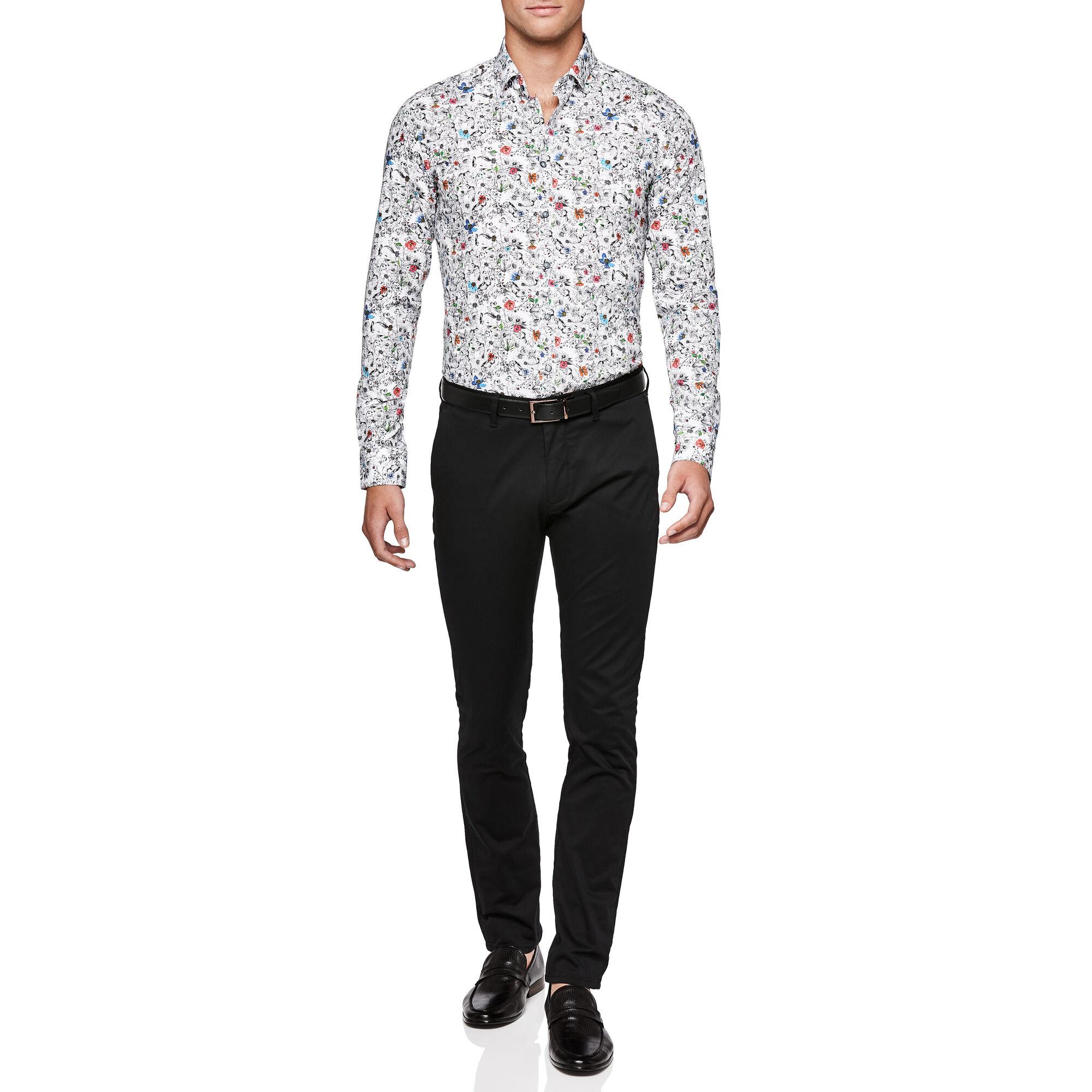 c1ce97ee157 Collin - Multi Floral - L/S Italian Fabric Floral Shirt | Politix