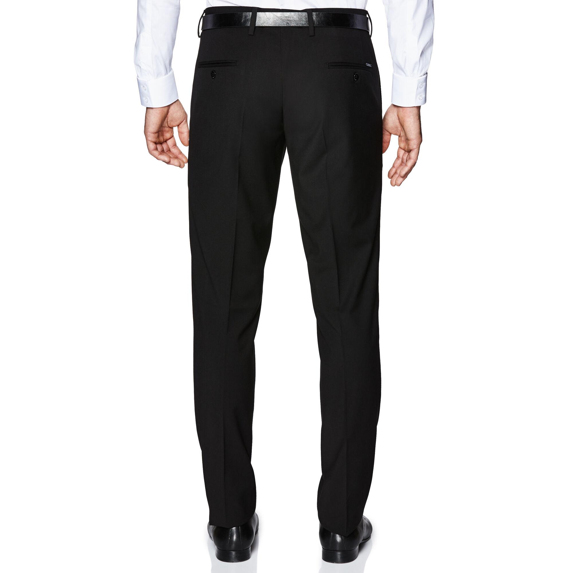 dea7087f40 Marcuss - Black - Tapered Suit Pants   Politix