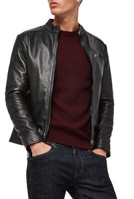 Blackheath Leather Jacket, Black, hi-res