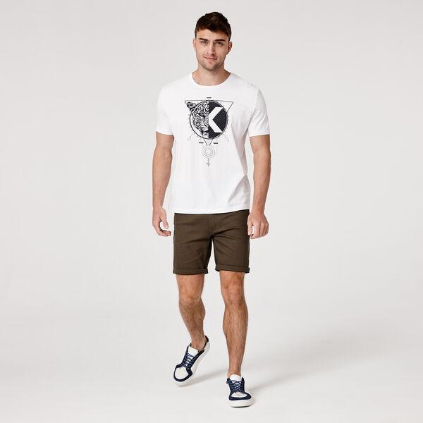 VERANO T-SHIRT, White/Black, hi-res