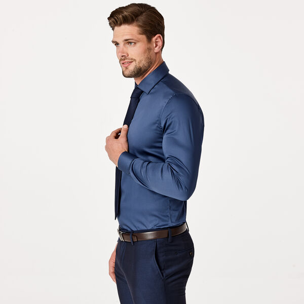 EDISSON SHIRT, Smoke Blue, hi-res