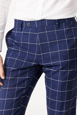 NORLAND, Navy Windowpane, hi-res
