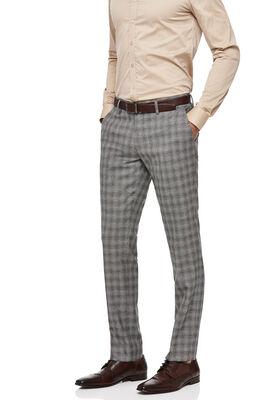 DALSTON SUIT PANT, Grey Tan Check, hi-res