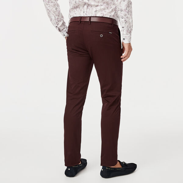 WINSOR CHINO, Dark Burgundy, hi-res