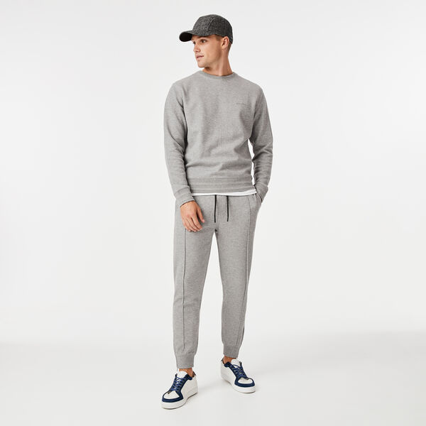 Logo Knitwear, Light Grey Marle, hi-res