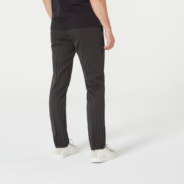 MITCHELL SUIT PANT, Black/Pinstripe, hi-res