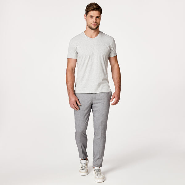 LOMASO T-SHIRT, Light Grey Marle, hi-res