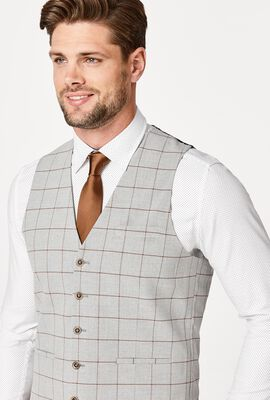 EARLS, Light Grey Windowpane, hi-res