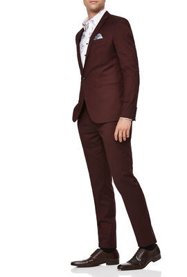 CALDWELL SUIT, Burgundy, hi-res