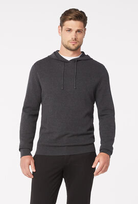 Colombo Hoodie Jumper, Charcoal, hi-res