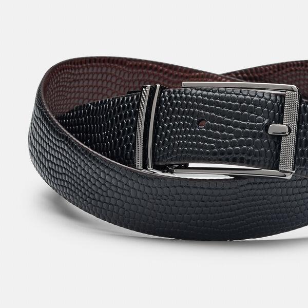 Novello Belt, Dark Tan/Black, hi-res