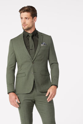 JULES SUIT JACKET, Khaki, hi-res