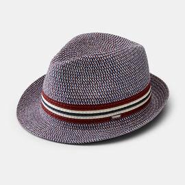 ACILIA HAT, Burgundy/Navy, hi-res