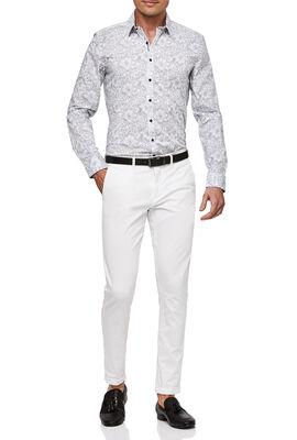 Nera Shirt, White/Navy, hi-res