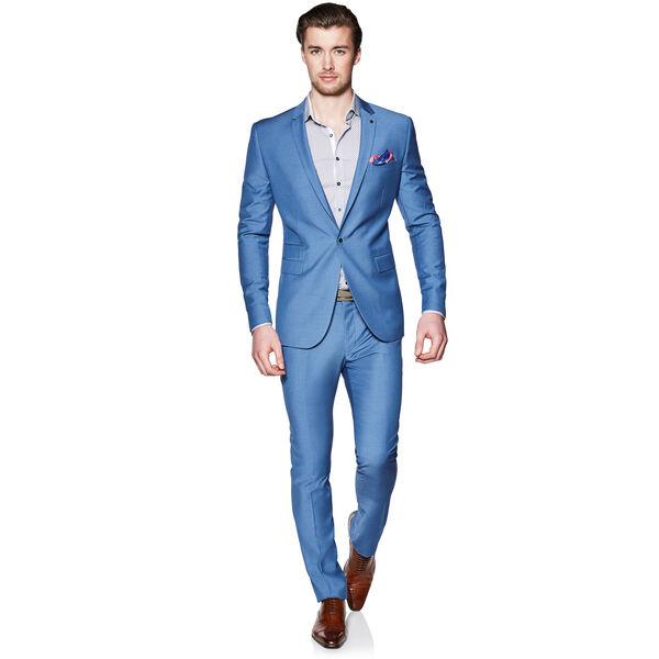 Edward - Blue - Skinny Suit Set | Politix