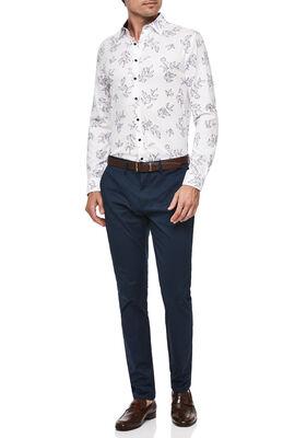 Mumford Shirt, White/Magenta, hi-res