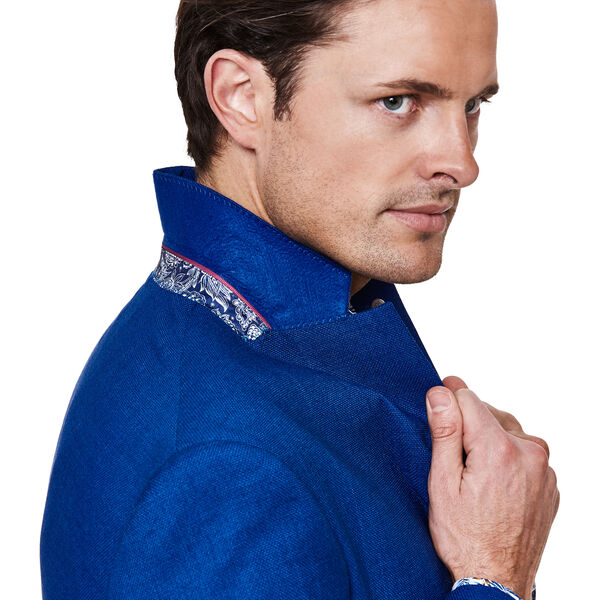 BELLANTE SUIT JACKET, Blue, hi-res